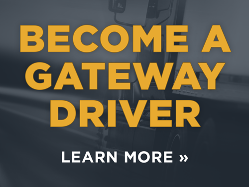 become a gateway truck driver